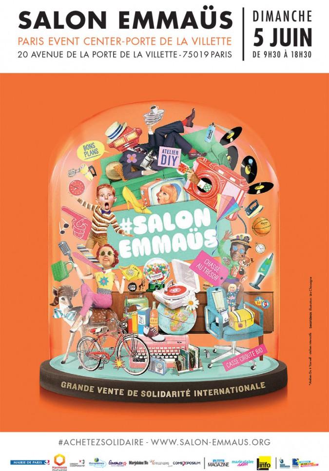 5 Juin 2016 Salon Emmaüs à Paris Emmaüs Nièvre