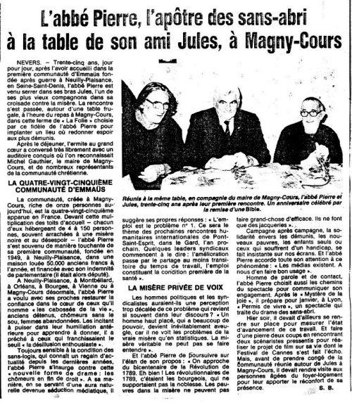 10 DECEMBRE 1987