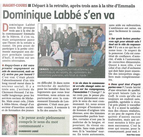 article jdc 31 mars 2017 départ retraite Dominique(1)