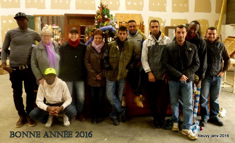 Janvier 2016 Bonne Année Emmaüs Nièvre